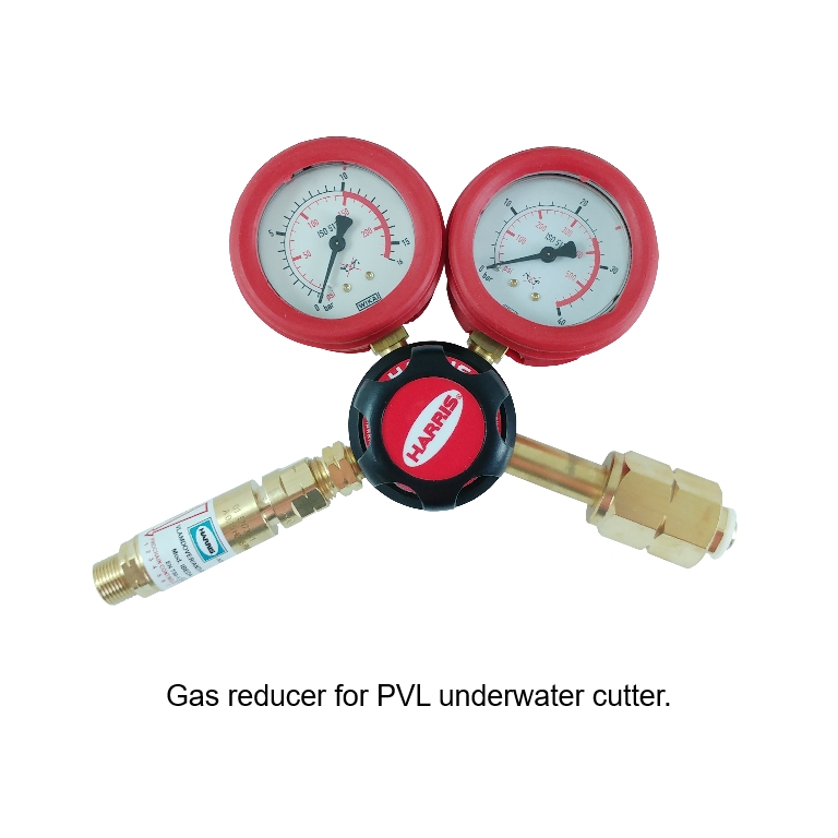gas reducer for pvl underwater cutting torch
