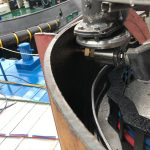 Cutting example inside pipe